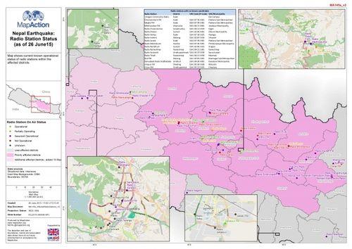 MapAction-Nepal